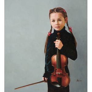 The violin. Sabina Gizzatullina