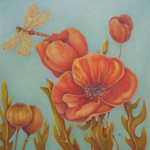 FLOWER  FANTASY, Poppies